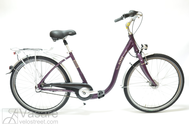 "Bicycle 26""Da-Al-CTY R44 3NX U PAGOBA2 ALU COMFORT purple jam"