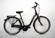 "Bicycle 26""Da-Al-CTY R44 7NY U NUN-BA Edition City 6.0%Arnt-blk MATT"
