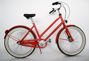 "Bicycle 26""Da-Al-CTY R48 3RB U TRAPEZ Arrant red ~"