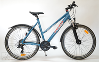 Bicycle 26''Da-Al-TRK R51 T21 F TRAPEZ  Teel-blue