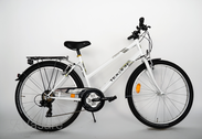 "Bicycle 26""Da-St-ATB R44 T21 U TRAPEZ Polar-white"