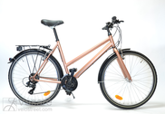 "Bicycle 26""Da-St-ATB R50 T21 U TRAPEZ Copper-metallic"