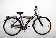 "Bicycle 26""He-Al-ATB R44 3NX U BANANA Diamon-black"
