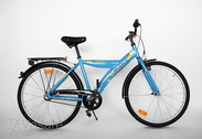 "Bicycle 26""He-Al-ATB R44 3NX U BANANA sport-blue"