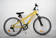 "Bicycle 26""He-Al-DRT R36 T07 F DIRT-E True yellow"