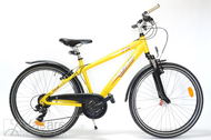 "Dviratis 26"" He-Al-DRT R42 T21 F DIRT-E True yellow"