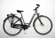 "Bicycle 28""Da-Al-CTY R45 3RB U WAVE-NS LUCCA NL ~iron black MATT"