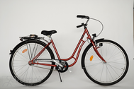 "Fahrrad 28"" Da-St-TSP R48 RBN U TOUREN CITY imperial-red"