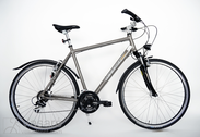 "Bicycle 28""He-Al-CRS R58 V24 F HERR-CI Halva-grey"