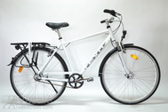 "Fahrrad 28"" He-Al-TRK R53 8NX F TRAP-IT Polar-whi"
