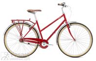 Dviratis Breezer Downtown 8 ST Gloss Red,
