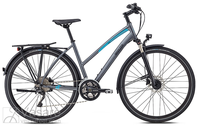 Fahrrad Breezer Liberty S1.3+ ST Satin Anthracite