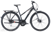 Fahrrad Breezer Liberty S2.3+ ST Satin Black
