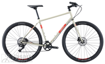 Fahrrad Breezer RADAR CAFE Sand with red