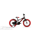 Dviratis Drag Alpha 16  black red