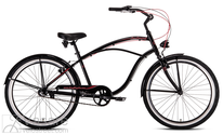 Dviratis Drag Boulevard i-3 black red