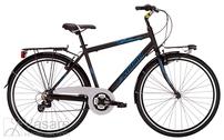 Jalgratas Drag Glide Black/Blue