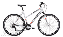 Fahrrad DRAG Grand Canyon Base Lady Silver Red