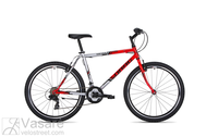 Dviratis Drag Hacker 26 Red/silver