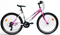 Bicycle Drag Hacker Lady 26  white pink