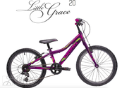 Fahrrad Drag Little Grace 20 Purple