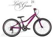 Jalgratas Drag Little Grace 24 Purple