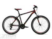Dviratis Drag ZX Base 29 black red
