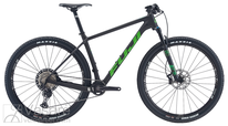 Bicycle Fuji SLM 29 2.1 Satin Carbon/ Green