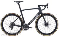 Bicycle Fuji Transonic Disc 1.1 Satin Carbon/ Chrome Silver