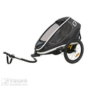 Bicycle trailer for children Hamax Outback ONE Grey