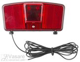 Carrier rear light for dynamo use