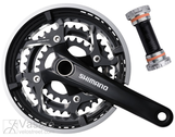 Chainwheel set Shimano FC-T551 48/36/26 170mm with B.B. Set