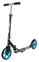 "City scooter Hornet alu/steel 8"" black/bright blue 200mm"