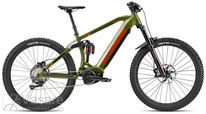 E-Bike Fuji BlackHill Evo 27.5+ 1.5 Satin Army Green