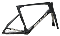 Frame set Fuji Transonic Disc 1.1 Frameset Satin Carbon/ Chrome Silver