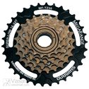 FREEWHEEL, 6-SPEED, BROWN 14-34T