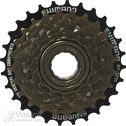 FREEWHEEL, 6-SPEED, BROWN MF-TZ20 14.16.18.21.24.28