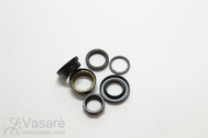 "Headset 1 1/8-1"" SH-XR-E8 Blk St Thread"