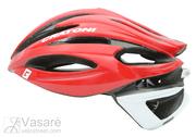 Helmet Cratoni C-Shot  red-white glossy M-L