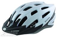 Šalmas dviratininkui white Carbon dydis 54-58cm M