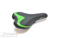 Saddle SR 8551 Blk w/o clamp w/o spring