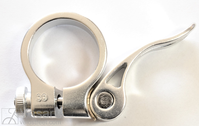 Seat Clamp CQ02 Sil Al QR 33,0