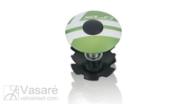 "XLC A-Head Plug AP-S01, 1.1/8"", Alu, limegreen"