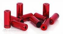 XLC brake hose end cover BR-X10 red within Ø 5,0 mm