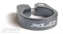 XLC seat post clamping ring PC-B05, 34,9mm, titanium cloured,w socket screw