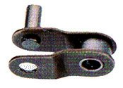 Snap on connecting link KMC, 1/2x1/8, brown