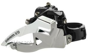 SRAM Front Derailleur X-9 2x10 Low Direct Mount S3 42T Top Pull