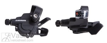 SRAM Shifter X-3 Trigger Set 7sp Rear Index Front