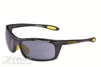 Sunglasses Cratoni Air Blast, black matt+yellow