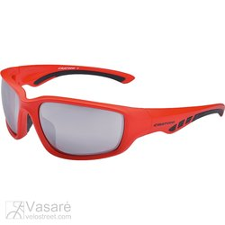 Sunglasses Cratoni Wave, red matt+black